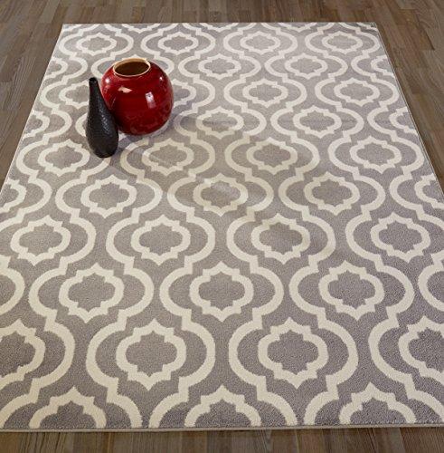 Diagona Designs Rug, 7'10 X 9'10, Grey/Ivory