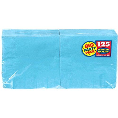 Amscan Big Party Pack 125 Count Luncheon Napkins, Caribbean