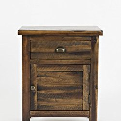 Jofran 1742-20 Artisan's Craft Accent Table Dakota Oak