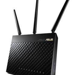ASUS AC1900 WiFi Dual-band 3x3 Gigabit Wireless Router with AiProtection Network Security