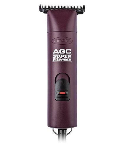 Andis AGC Super 2-Speed with T-84 Detachable Blade Clipper Professional Equine Grooming, Cleaning Blade Brush Included