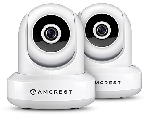 2-Pack Amcrest ProHD 1080P WiFi/Wireless IP Security Camera