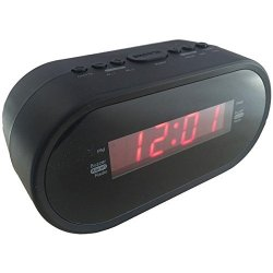 Sylvania AM/FM Clock Radio With Dual Alarm Clock, Digital Tuning