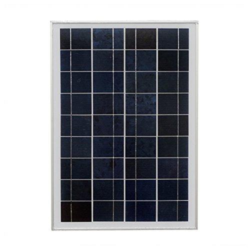 ECO-WORTHY 20 Watt 12 Volt Polycrystalline Solar Panel Module Off Grid Charging RV Boat