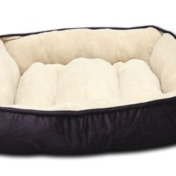 HappyCare Textiles HCT Luxury Embossed Rectangle Micro Mink Dog and Pet Bed