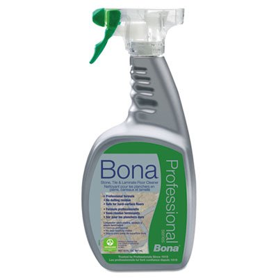 Bona Pro Series Stone, Tile and Laminate Cleaner Ready To Use, 32-Ounce Spray