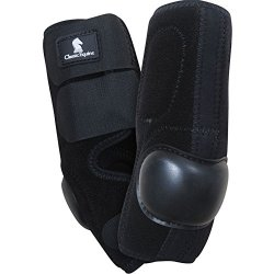Classic Equine Neoprene Skid Boot Black