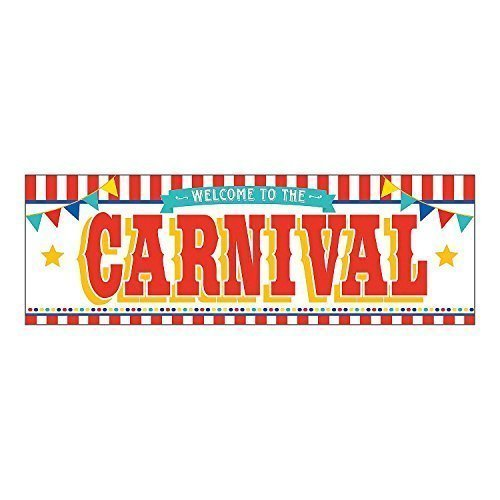 Fun Express Plastic Carnival Banner (2-Pack)
