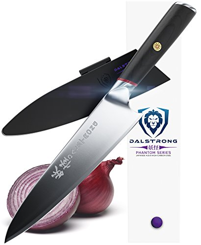 "DALSTRONG Chef Knife - Phantom Series - Japanese AUS8 Steel - 8"""