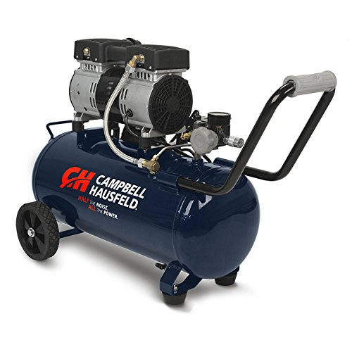Quiet Air Compressor, 8 Gallon, Half the Noise, 4X the Life, All the Power