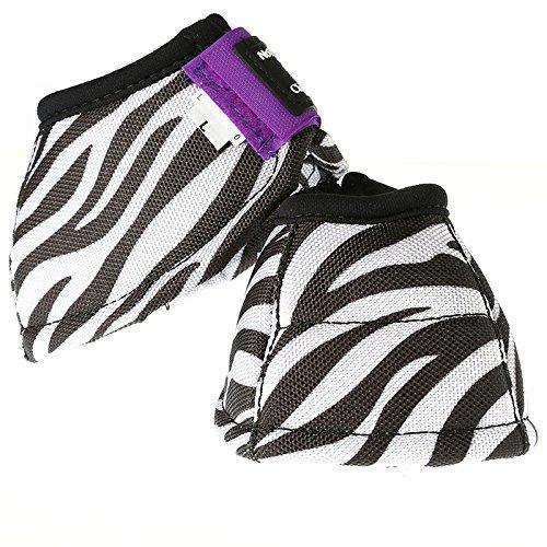 Classic Rope Company Dyno Designer Bell Boot Zebra Purple L Zebra/Purple