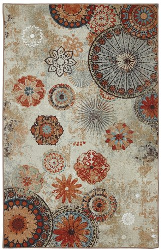 Mohawk Home Alexa Medallion Indoor/ Outdoor Printed Area Rug, 5'x8'