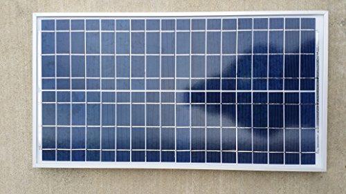 SOLARFENNEL 35W Watt Poly Solar Panel Off Grid RV Boat Battery Charger