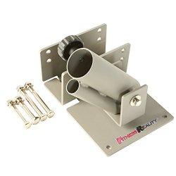 "Fitness Reality Landmine 360 Degree Rotation, fits 1"" Standard & 2"" Olympic Bars"