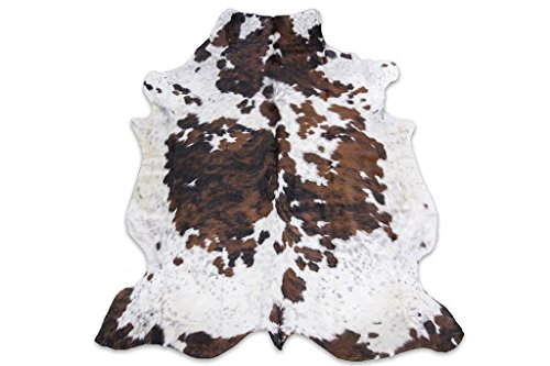 Rodeo Tricolor Cowhide Rug XXL