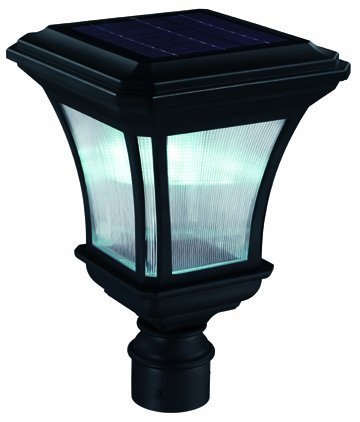 DMSOLAR - 2PK DM Solar Post Lamp