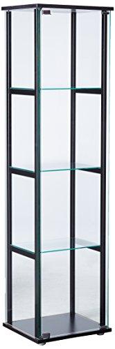 Coaster Home Furnishings Curio Cabinet, Black