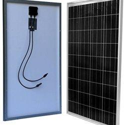 WindyNation 100 Watt 100W Solar Panel for 12 Volt Battery Charging RV, Boat, Off Grid