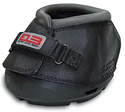 Cavallo Horse & Rider DELBR-0 ELB Regular Sole Hoof Boot, Size 0, Black