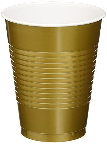 Amscan (AMSDD) Reusable Plastic Cups Big Bundle Party Tableware