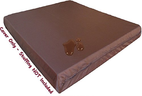 Waterproof Zipper Dog Bed Cover for XXL Large