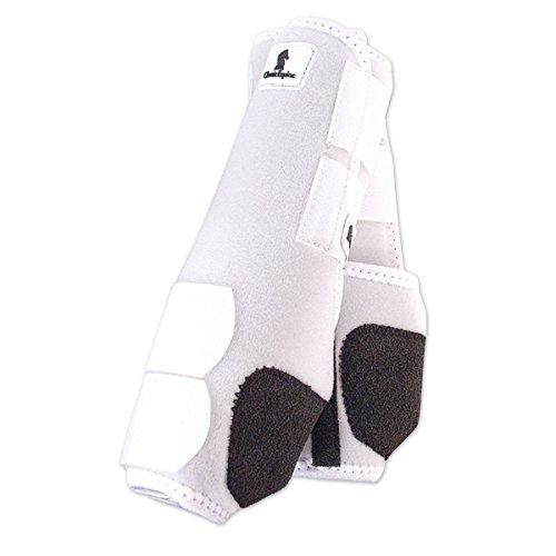 Classic Equine Legacy SMB Boots FRT Medium White