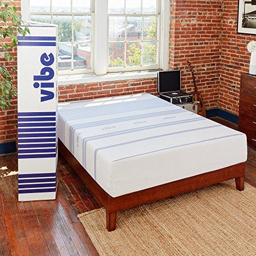 Classic Brands Vibe 12-Inch Gel Memory Foam Mattress, Twin