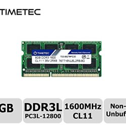 Timetec Hynix IC 8GB DDR3L 1600MHz PC3L-12800 Non ECC Unbuffered