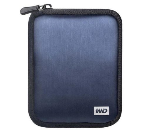 WD Soft Carrying Case for My Passport Portable Hard Drives (Blue)