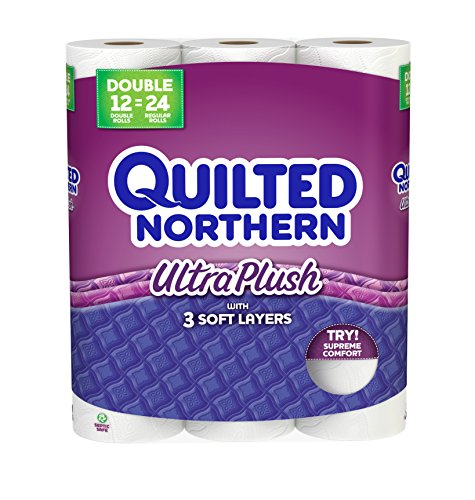 Quilted Northern Ultra Plush Bath Tissue, 12 Count