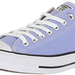 Converse Chuck Taylor All Star Seasonal Canvas Low Top Sneaker, Twilight Pulse, 6 US Men/8 US Women