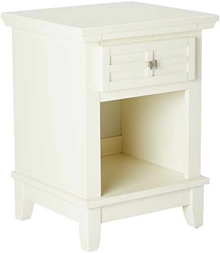 Home Styles Arts and Crafts Night Stand, White Finish