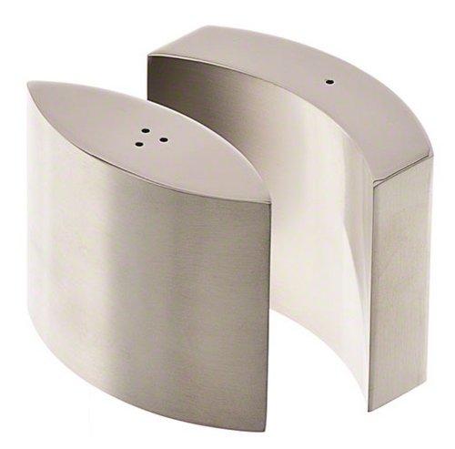 American Metalcraft SPDX11 Stainless Steel Salt and Pepper Shakers Set, Modern Design, 4-Ounce