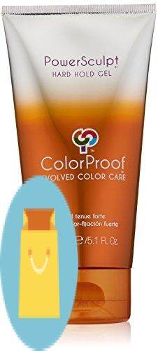 ColorProof Evolved Color Care Powersculpt Hard Hold Gel, 5.1 Fl Oz
