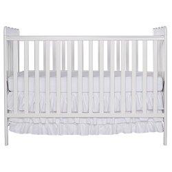 Dream On Me, Classic 3 in 1 Convertible Crib, White
