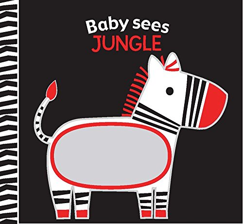 Jungle: A soft book and mirror for baby! (Baby Sees Cloth Books)