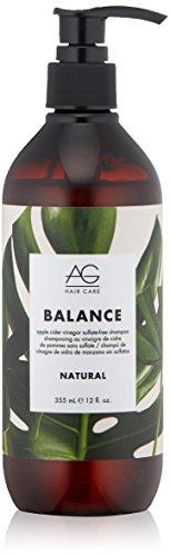 AG Hair Natural Balance Apple Cider Vinegar Sulfate-Free Shampoo 12 fl. oz.