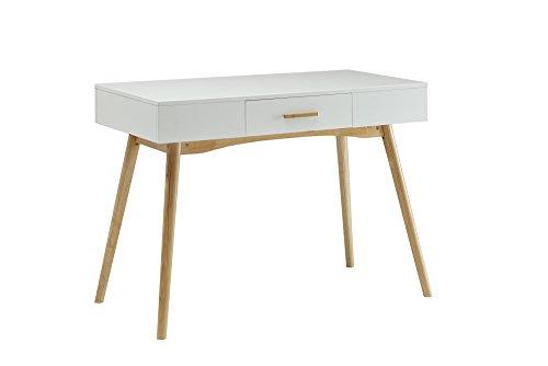 Convenience Concepts Oslo 1-Drawer Desk, White