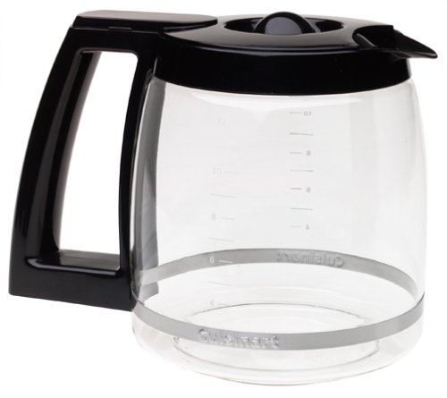 Cuisinart 12-Cup Replacement Glass Carafe, Black