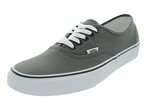 Vans Unisex Authentic Pewter/Black Sneaker - 12