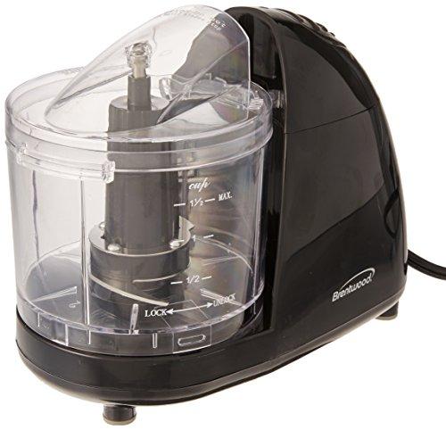 Brentwood Appliances Food Chopper, Mini, Black