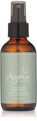 Agave Healing Oil - Revitalizing Shine Spray. Anti Frizz Hydrating Mist for Instant Lightweight Moisture and Shine. Sulfate Free, Paraben Free, Phthalate Free and Cruelty Free (3.9 fl.oz)