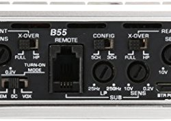 Cerwin-Vega B55 Stealth Bomber Class D Amp (b55, 5 Channels, 1,900W) (Certified Refurbished)