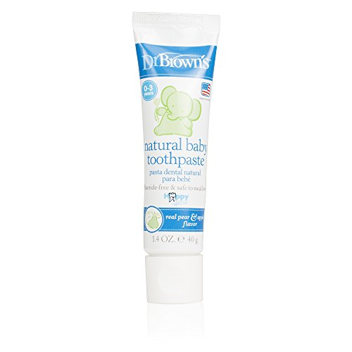 Dr. Brown's Natural Baby Toothpaste, 1.4 Ounce
