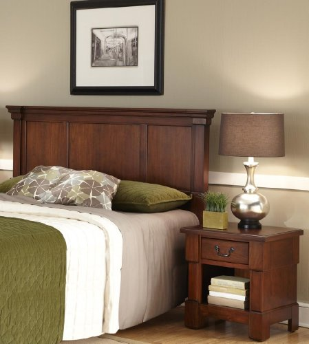 Home Styles The Aspen Collection Queen/Full Headboard and Night Stand