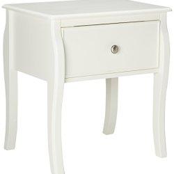 Coaster Home Furnishings Traditional Nightstand, White