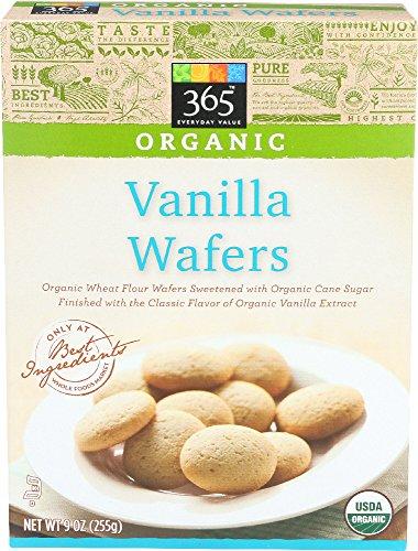 365 Everyday Value, Organic Vanilla Wafers, 9 Ounce