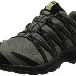 Salomon Men's XA Pro 3D CS Waterproof Trail-Runners, Castor Gray, 10.5 M US