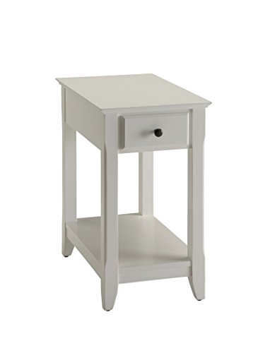 ACME Furniture Acme Bertie Side Table, White, One Size