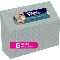 Kleenex Hand Towels, 60 Disposable Towels per Box, 6 Packs